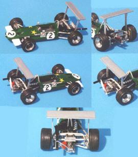 Lotus 59 F2 Rindt Thruxton 1969