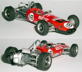 Lotus 59 F3 Hunt Rouen 1970