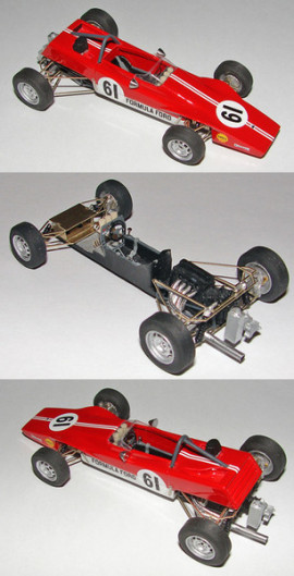 Lotus 61 FF London Racing Car Show 1969