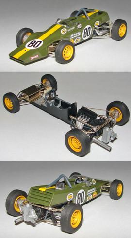 Lotus 61 FF Walker Champion Formule Ford 1969