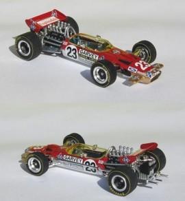 Lotus 49C Soler Roig GP F1 Espagne 1970