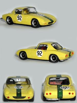 Lotus Elan S1 Oulton Park 1964