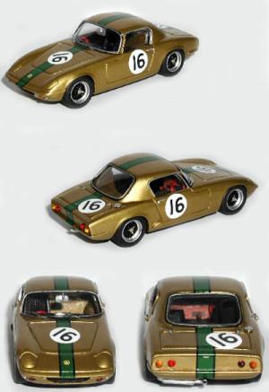 Lotus ElanS1 Silverstone 1964