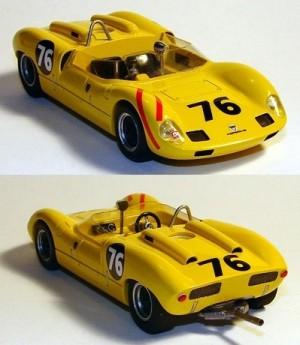 Elva Porsche MK7 Road America 1963