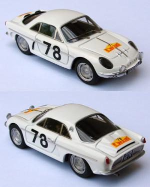 Alpine A108 Greder Tour de Corse 1961