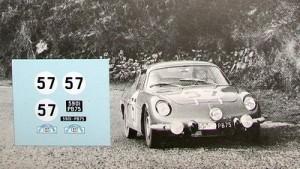 Alpine A110 Cévennes 1964