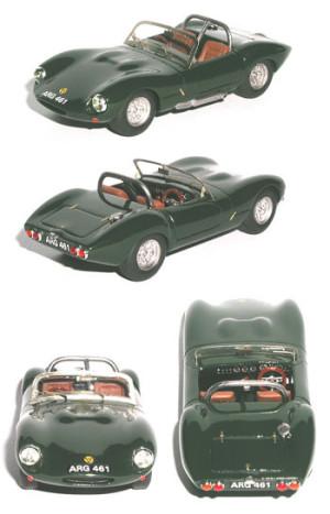 Ginetta G4 spider 1961