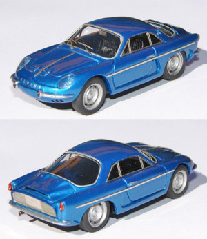 Alpine A108 de route
