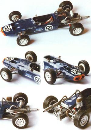 Lotus 59 Formule Ford Lédenon 1999